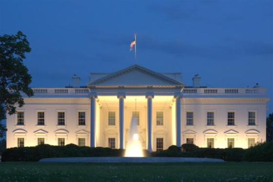 white and gold whitehouse