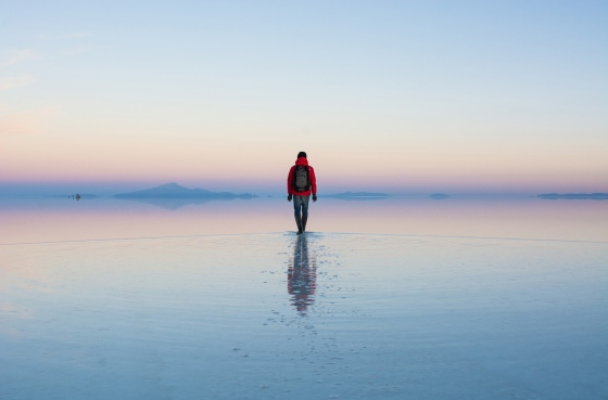 walks on water bolivia